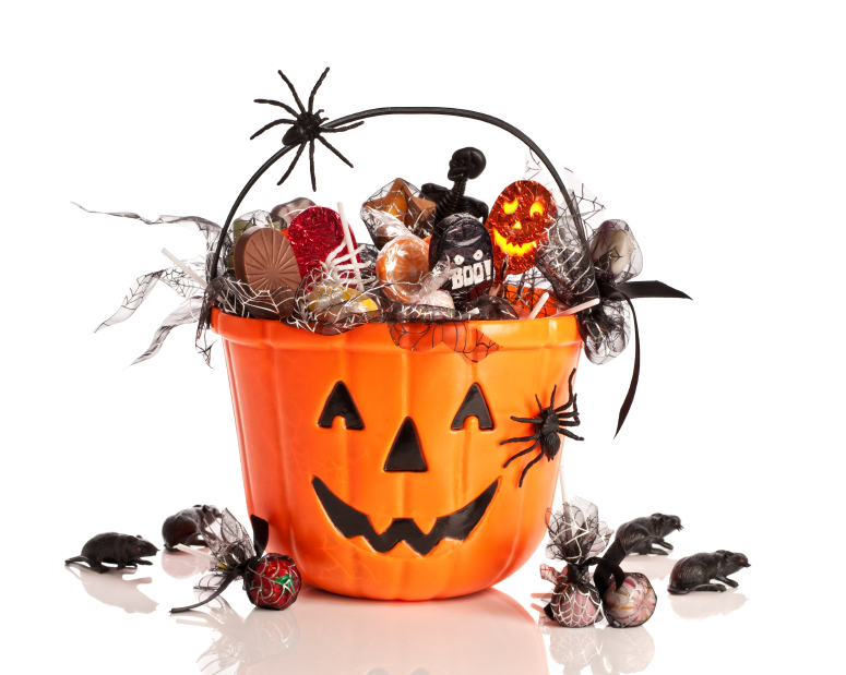 Trick Or Treat Halloween Bucket