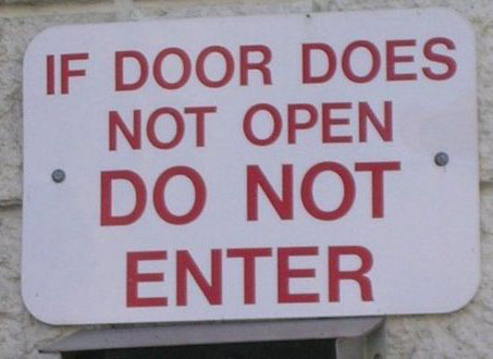 door-does-not-open