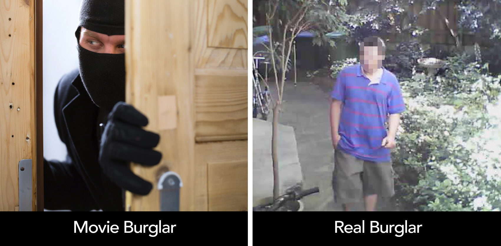 Real Life Burglars Are Nothing Like The Movies Cammy