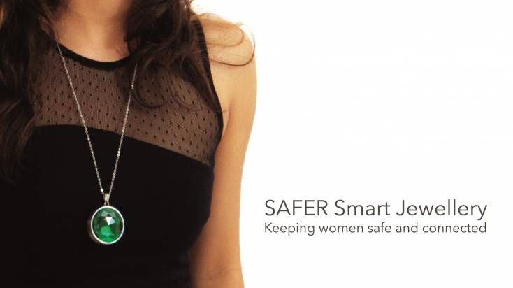 Safer smart necklace