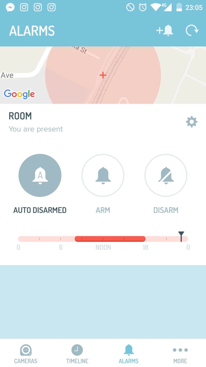 auto-arm-disarm-alarm-screen
